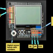 A simple Arduino based sensor monitoring platform for Hydroponics